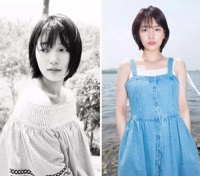 圆脸→齐脖短发 新垣结衣和秀智发型的主要区别在于刘海,秀智的刘海会图片