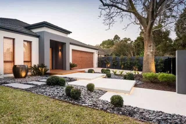 超养眼的现代庭院景观设计方案