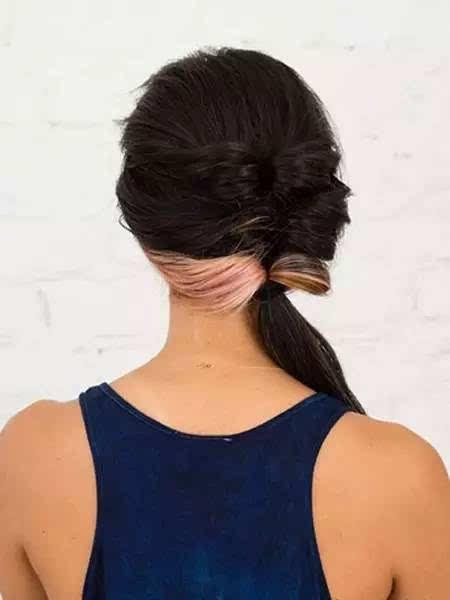 马尾辫的各种时尚扎法~这几款百搭发型包你爱上它!