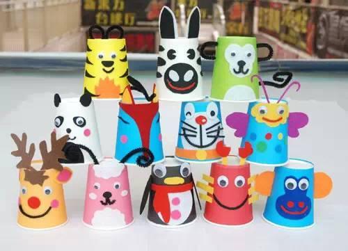 【巧妈手工】彩色纸杯手工diy大集合(动物篇)