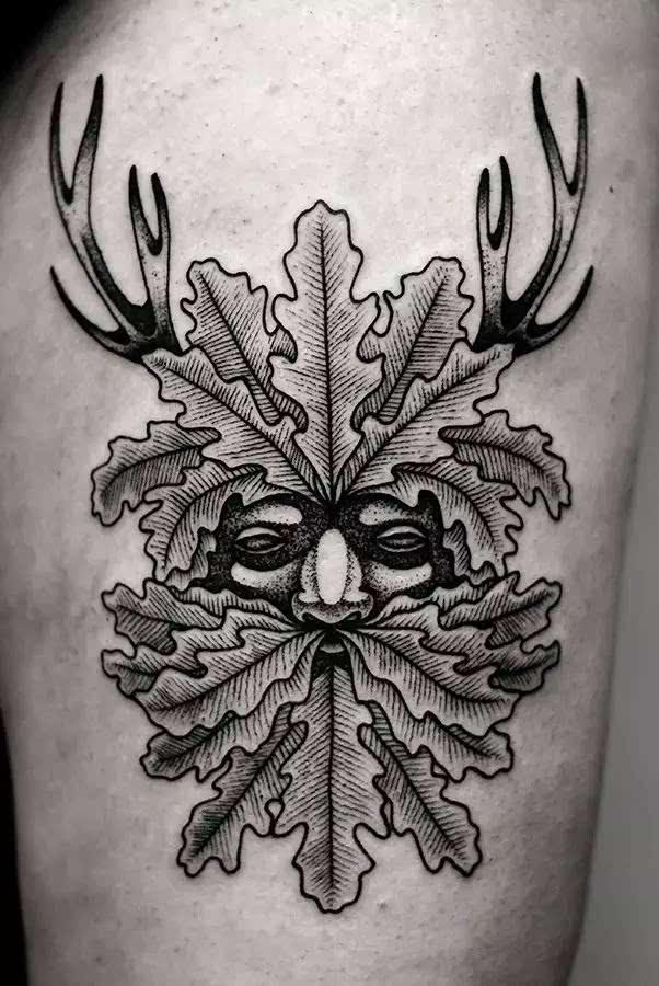 黑| 纹身