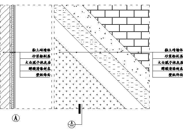 48,轻质砖墙面壁纸施工示意图