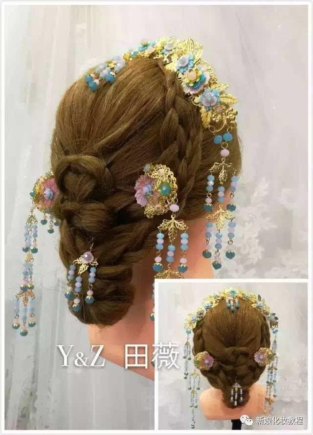 25款韩式新娘编发&中式新娘造型,哪一款是你的最爱!