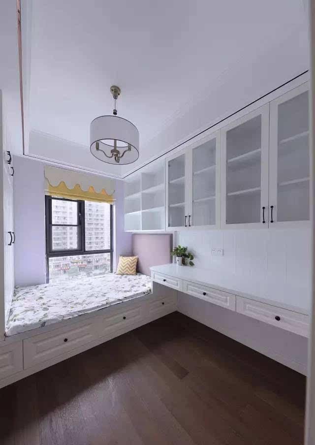 是书房也是卧室,榻榻米设计,美观又实用!