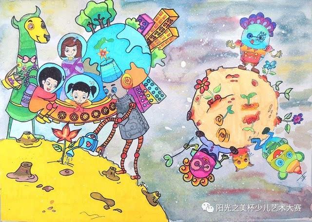 儿童画||这个暑假,关于画画你有freestyle吗?