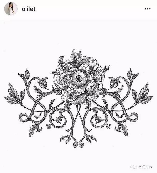 olilet是来自俄罗斯的美少女纹身师,她的风格特别犀利,战斗民族的