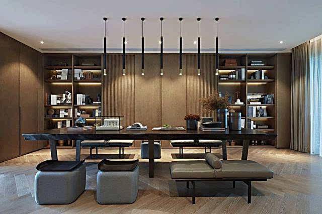 书房 茶室,才是新中式设计的最佳组合!国际家居图片