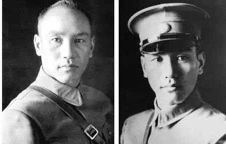 张学良帅照-蒋介石年轻超帅照片图片