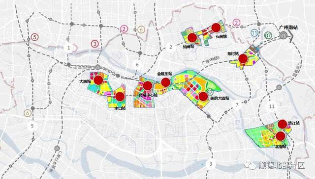 顺德陈村卫星地图