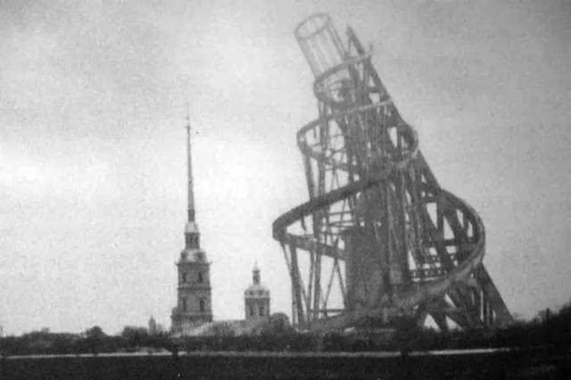 第三国际纪念塔图片