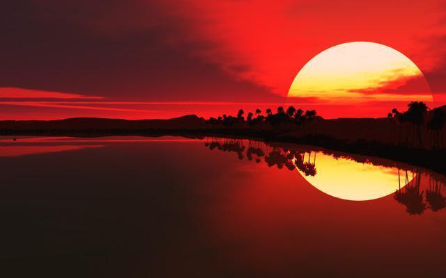 萨克斯《在水一方》,清晨听最美曲子,赏绝世照片,送友