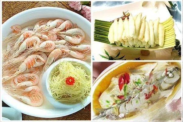 太湖三白:银鱼,白鱼,白虾图片