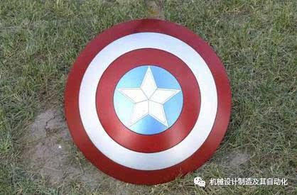老外手工制作美国队长盾牌,收放自如!