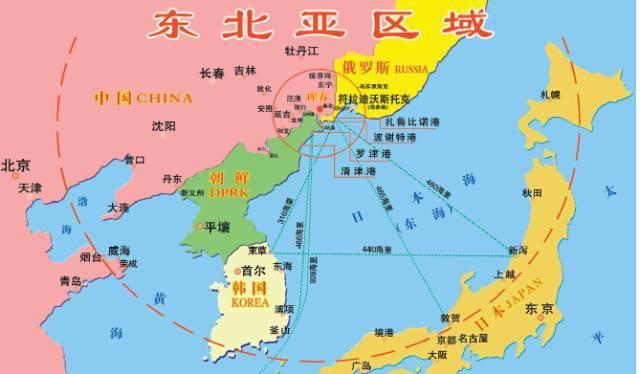 东北睡袍崛起!中国东北新获一个出海口,俄罗斯这次帮了大忙!工业图解图片