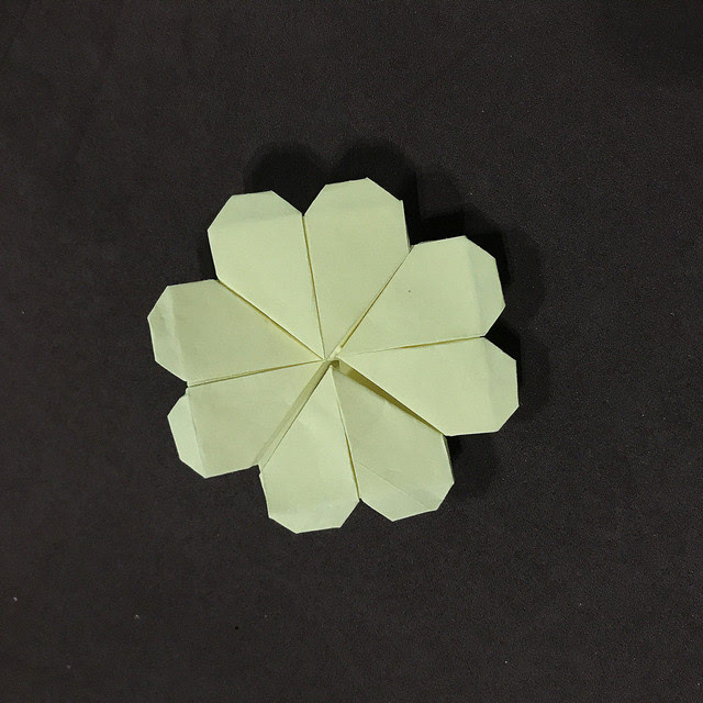 简单入门折纸,幸运四叶草(附视频和图文)图片