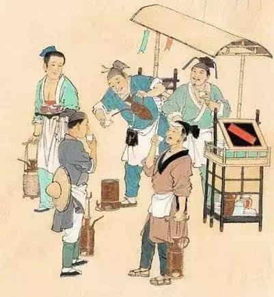 中国古人漫画手绘