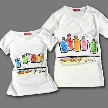 幼儿创意手绘t恤