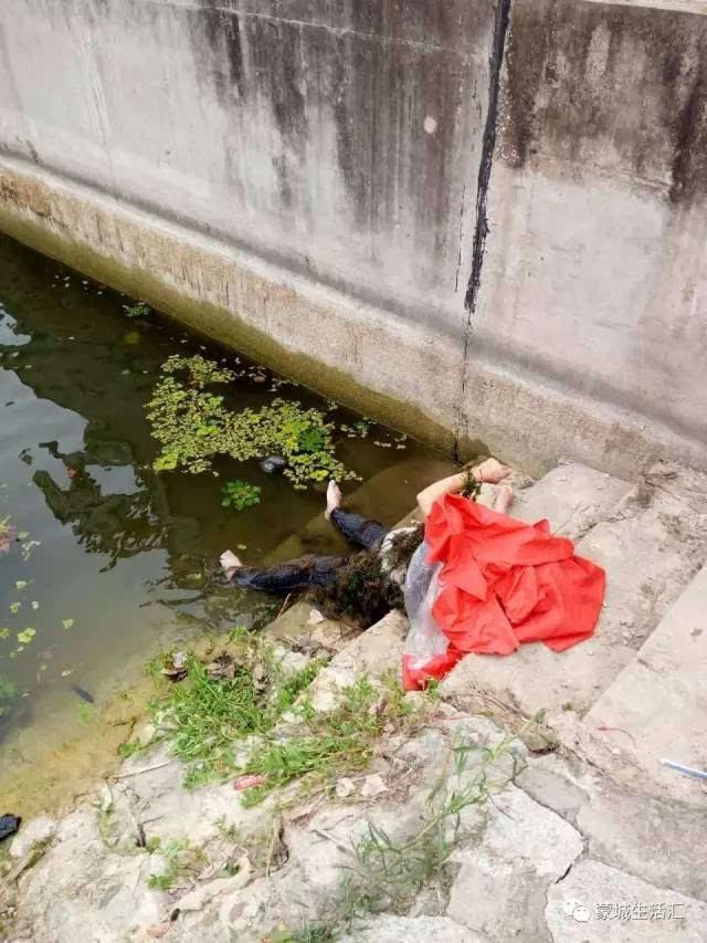 打捞女尸优酷网视频_【视频 图】昨天,蒙城涡河支流水域打捞出一具女尸