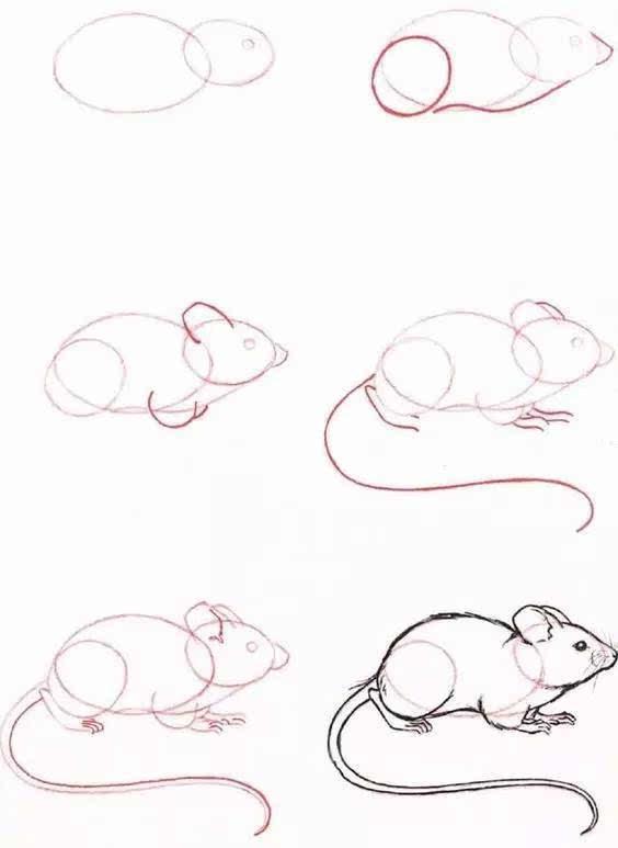 然而,父母呢不知从何下手 哪怕是画一些简单的小动物 这个教程,就是来图片