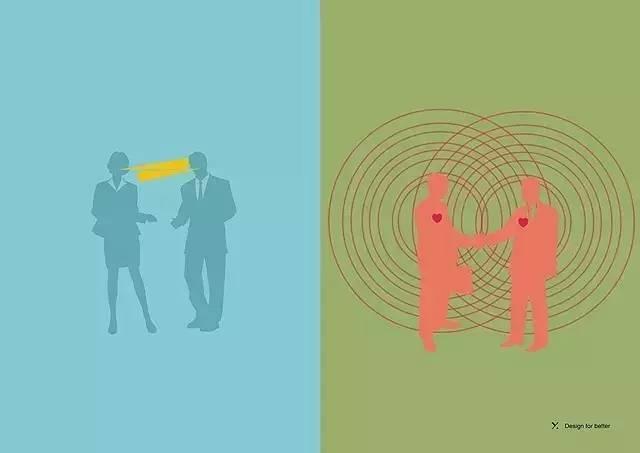 高级设计师懂得换位思考,能感受到他人的真实需求,并能有所反馈.