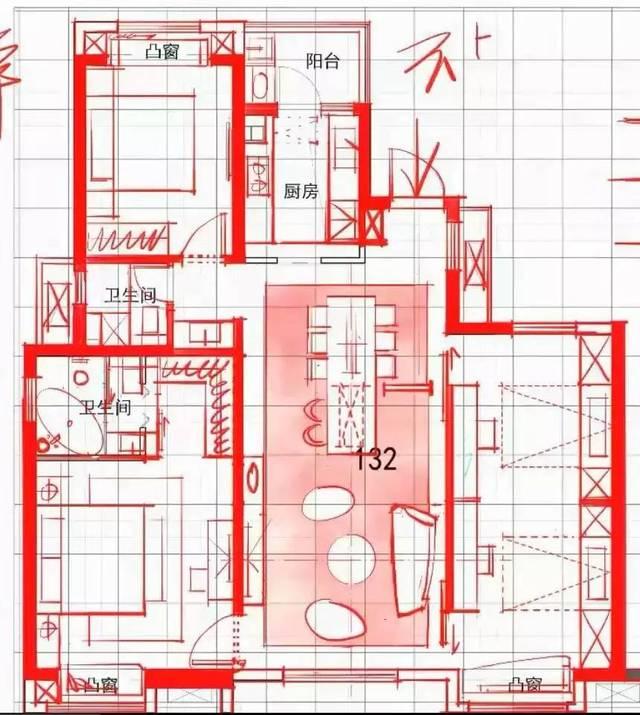 ▼ 本案例操作视频 ▼ 3 平面布局技巧 平面布局是室内设计的第一步