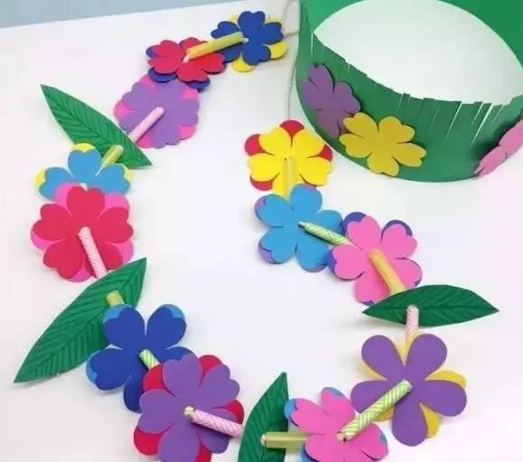 花朵纸板手工制作大全