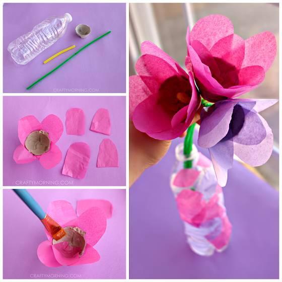 【手工】14款幼儿园皱纹纸创意手工制作!开学就用上了