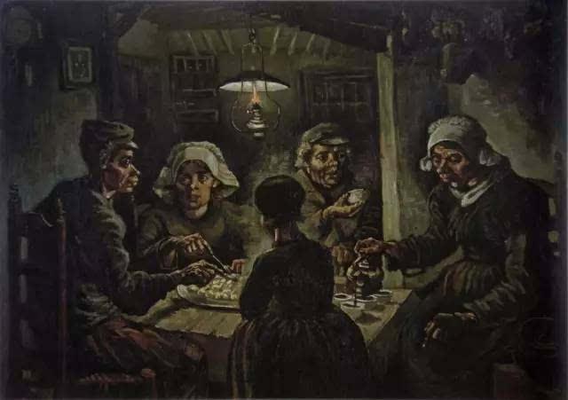 土豆美女人体艺术_5厘米 收藏:阿姆斯特丹国立文森特·梵高艺术馆 《吃土豆的人》是梵高