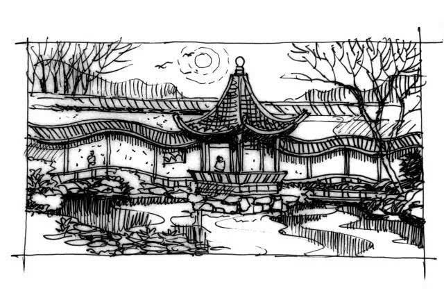 四种意境,读懂中国古典园林的浪漫丨园冶