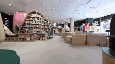 那么这次,设计师李想做了一个真正的室内儿童游乐园.