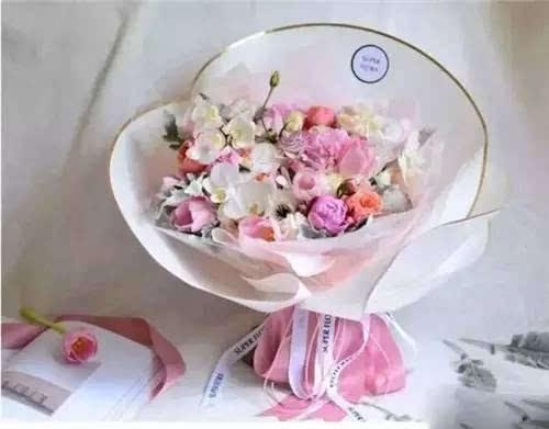 包好一束花,从认识包装纸开始图片