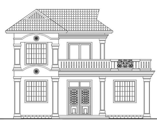 新农村自建二层楼房设计图及效果图,盖房首选!