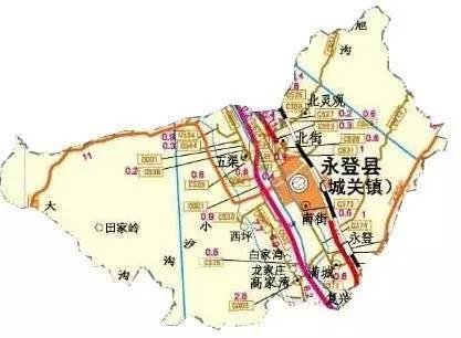 永登各乡镇地图,卫星地图,永登人必看,难得一见!