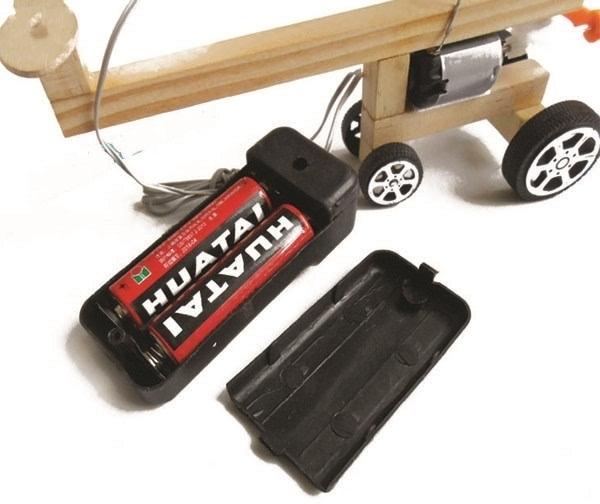 儿童手工科技diy发明制作小飞机模型图解