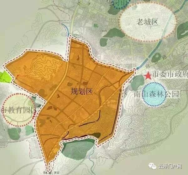 汉川市新城区规划图
