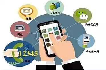 12345便民服务平台由12345热线电话,12345网络系统和12345微信平台