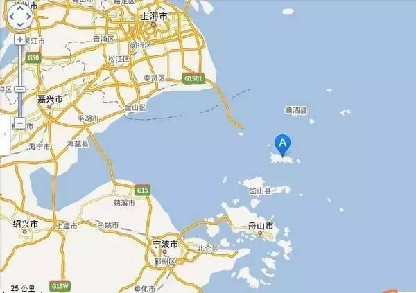 东极岛 手绘地图