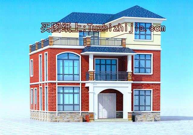 农村自建三层楼房设计图,这个户型全家都很喜欢!