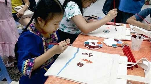创意环保布袋diy活动