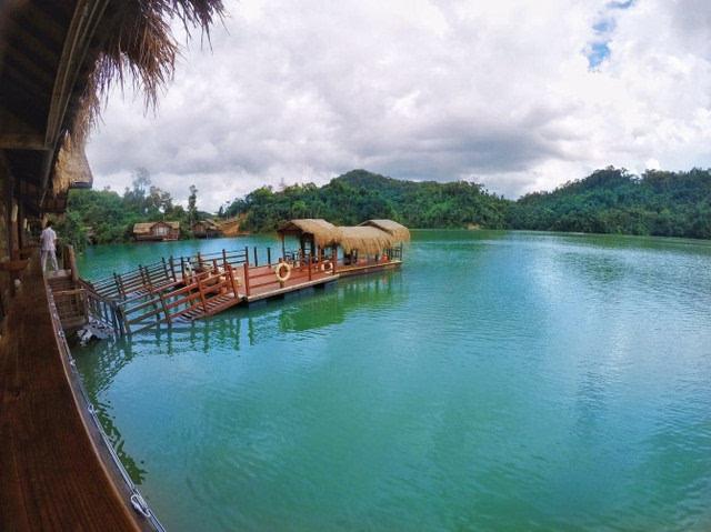 神玉岛湖心别墅