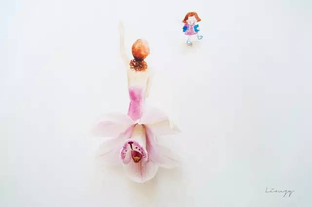 一朵鲜花做出了美丽的世界