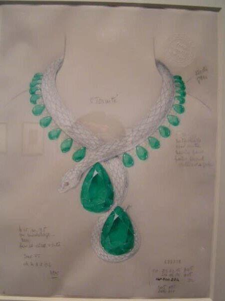 珠宝彩铅手绘教程