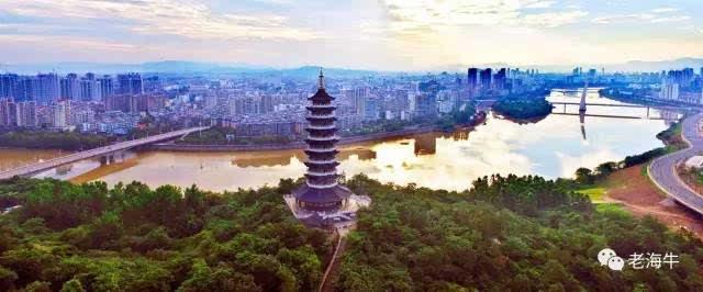 航拍大片,换个角度看赣州中心城区的美景