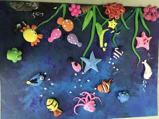 本期活动主题就是 《海底总动员》 对亲子粘土感兴趣的朋友赶紧报名啦