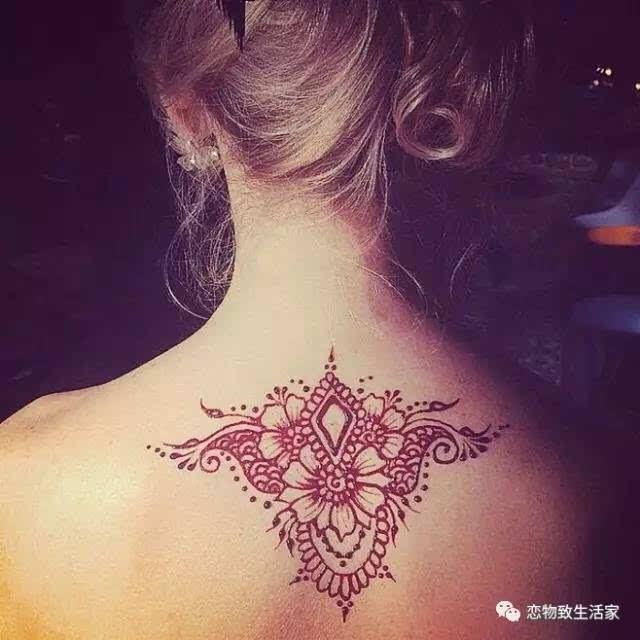 火遍印度的海纳纹身来啦图片