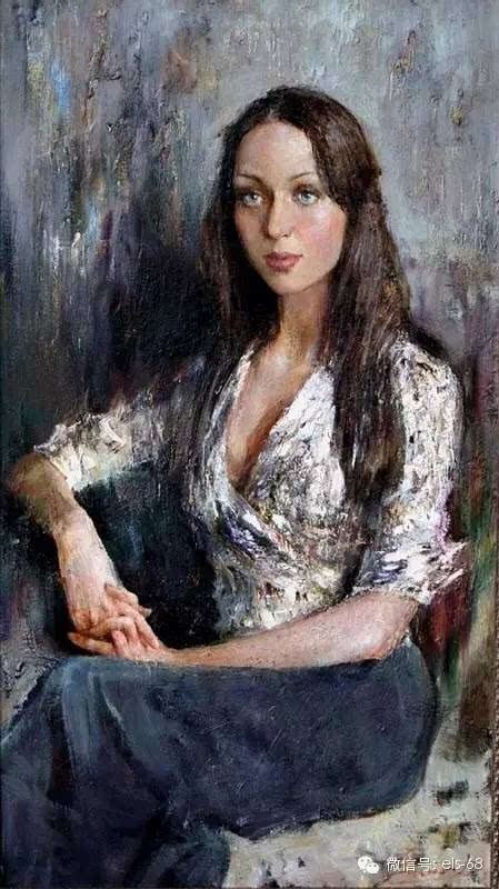 【艺术】俄罗斯画家维拉格拉多娃.安娜的油画作品图片