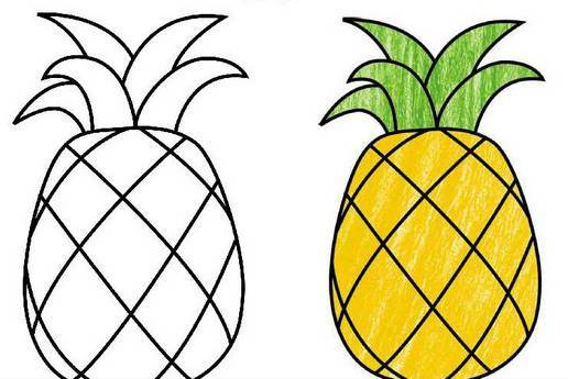 水果简笔画,太诱人了