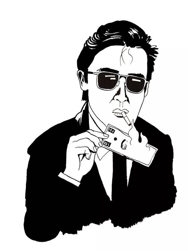 拾 此组手绘作品来自香港作者rex koo 以上图片阿难009期书单中的