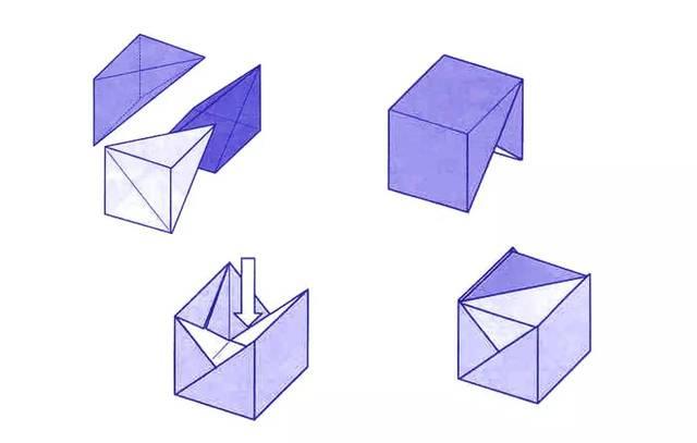 叠盒子步骤图解