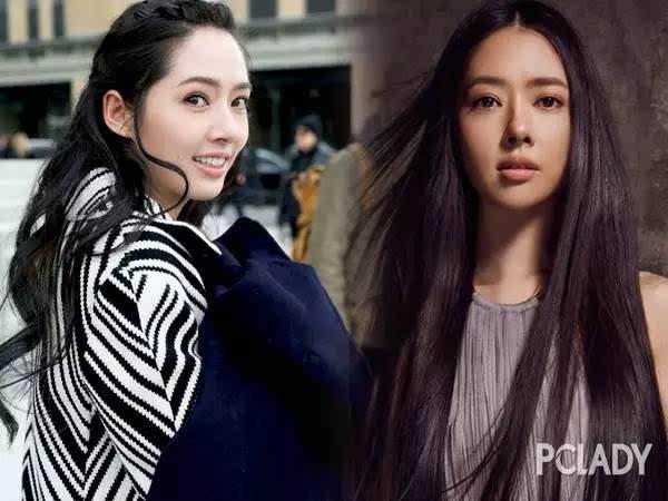 郭碧婷换了n种发型,为何还是留黑长直发?图片